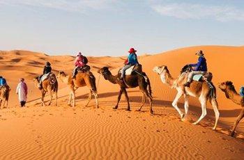 8D Experience Morocco + Merzouga Desert Safari & Camel Ride