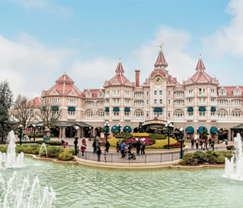 10D WEST EUROPE + EURODISNEY